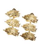Scritture, orecchini, bronzo dorato
